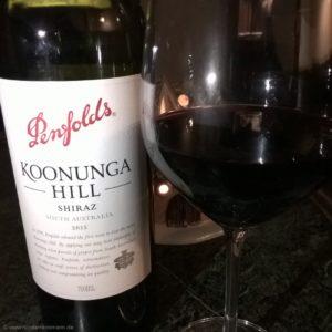 Penfolds Koonunga Hill 2014, Australien
