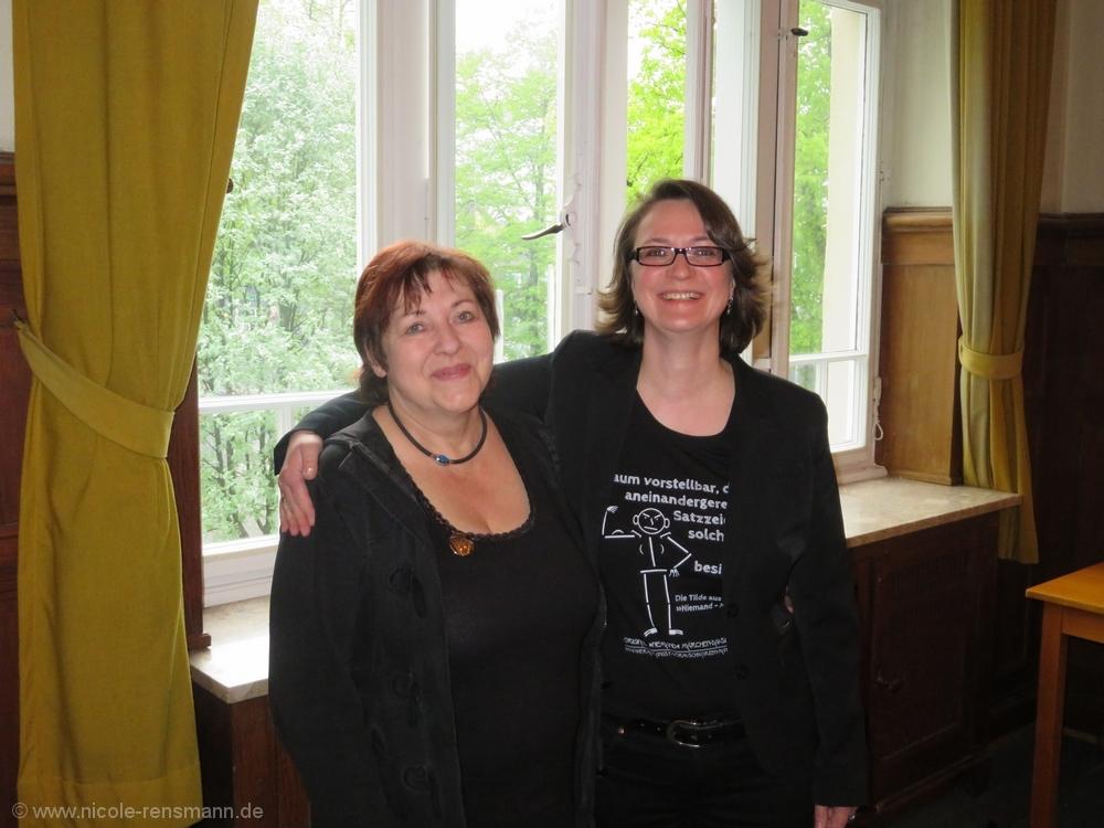 Angela Heise und Nicole Rensmann