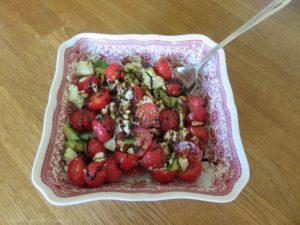 Avocado-Erdbeer-Caprese
