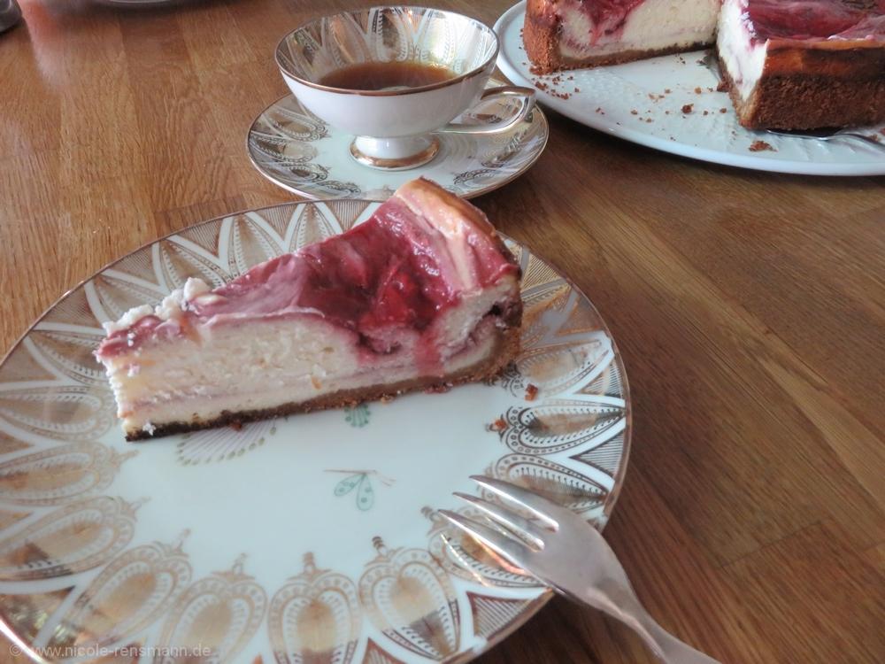 Käse-Himbeer-Kuchen