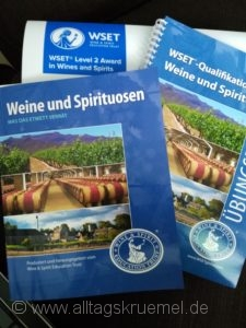 Schulungsunterlagen WSET Level 2