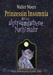 © Cover: »Prinzessin Insomnia« von Walter Moers / Knaus Verlag