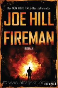 © Cover: »Fireman« von Joe Hill / Heyne Verlag