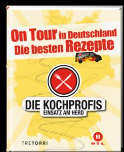 © Cover: »Die Kochprofis Band 5 - On Tour in Deutschland« / TRETORRI Verlag