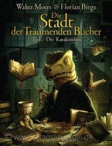 © Cover: »Die Stadt der träumenden Bücher Teil 2, Die Katakomben« von Walter Moers & Florian Biege / Knaus Verlag
