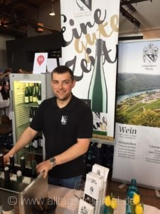 Kilian Moritz vom Weingut Schneiders-Moritz