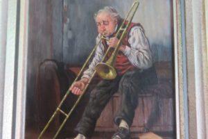 """""""Der Trompeter"""" von Friedrich Kottmann - Privatbesitz N. Rensmann"""