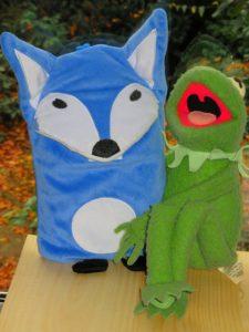 Der Fuchs und der Frosch - beste Freunde