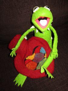 Frosch verschenkt sein Herz!
