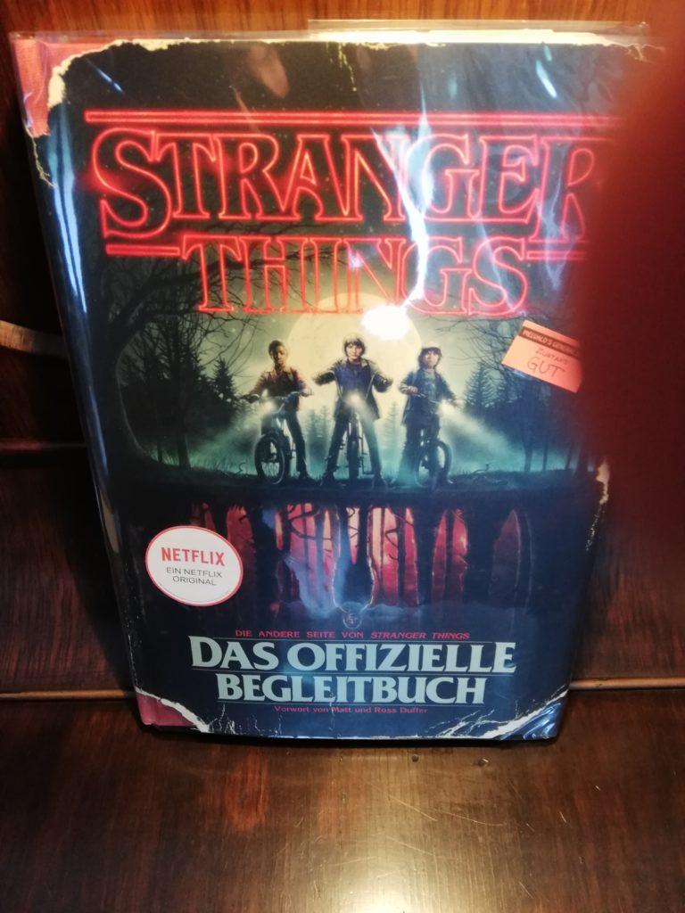 Das offizielle Begleitbuch zu Stranger Things.