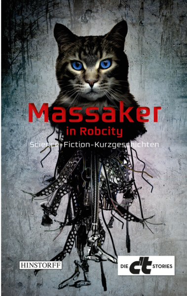 © Cover: »Massaker in RobCity!« - Anthologie / Hinstorff Verlag