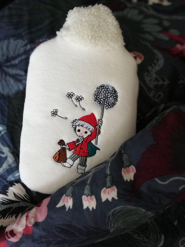 Öko-Warmflaschen mit samtig-zartem Soft-Fleecebezug